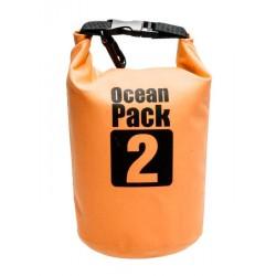 Bolsa Impermeable Ocean Pack 2 Naranja