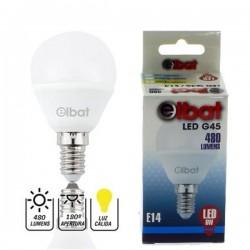 Bombilla LED G45 6W 480LM E14 Luz Cálida ELBAT