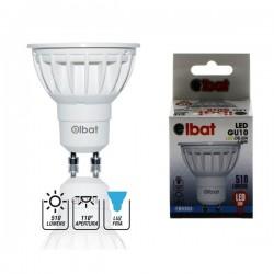 Bombilla LED GU10 6W 510LM Luz Fría ELBAT