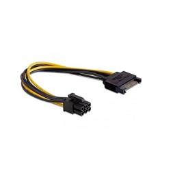 Cable Adaptador Energia Sata a 6 Pines