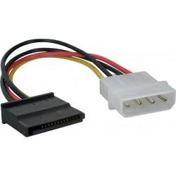 Cable Corriente Adapt. Molex a SATA