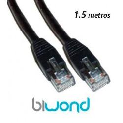 Cable Ethernet 1.5m Cat 5 BIWOND