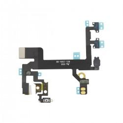 Cable Flex Switch Encendido/Apagado+Volumen+Microfono Iphone SE