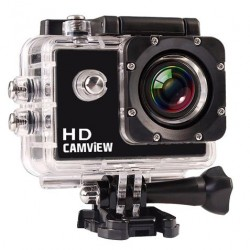 "Cámara Deportiva Full HD 720P 5 MPX LCD 2""  CAMVIEW"