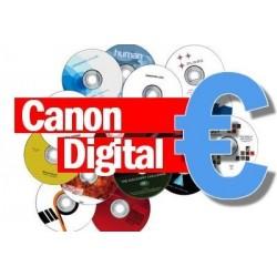 Canon Digital CD No Regrabable Real Decreto-Ley 12/2017