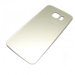 Carcasa Trasera Compatible Samsung Galaxy S6 Edge Oro