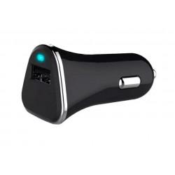 Cargador Coche USB Qualcom Quick Charge 3.0 Negro