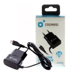 Cargador de Corriente MICRO USB 2.1A CROMAD