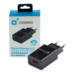 Cargador de Corriente Quick Charge 3.0 CROMAD