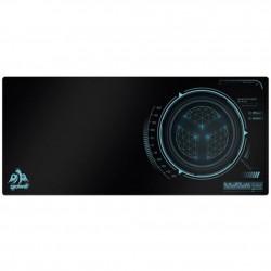 Alfombrilla Gaming Pro Tamaño XL 930X430 Negro/Azul CROMAD