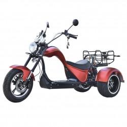 CityCoco Cobra S3 49e 4000W/48 AH Dual Motor 2x2 Rojo Doble Batería