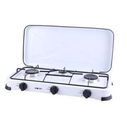 Cocina de Gas 3 Fuego Blanca MUVIP