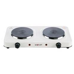 Cocina Eléctrica 2 Fuegos 2000W MUVIP