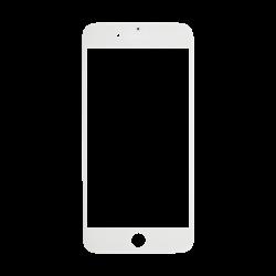 Cristal Pantalla+Marco iPhone 7 Plus Blanco