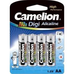 Digi Alcalina AA 1.5V (4 pcs) Camelion