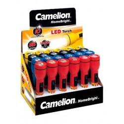 Expositor LED Homebright 24 Linternas 2xAA/R06 Camelion