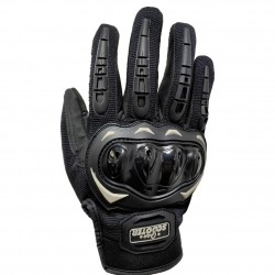 Guantes Táctiles Antideslizantes Moto Negro Talla L
