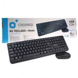 Kit Teclado + Ratón Inalámbricos CROMAD