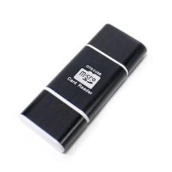 Cargador de Corriente 21A CROMAD 2x USB Negro