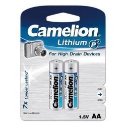 Litio AA 1.5V (2 pcs) Camelion