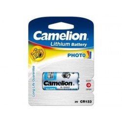 Litio CR123A 3V (1 pcs) Camelion