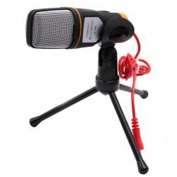 Micrófono + Condensador SF-666 Negro