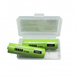 Pack 2 Pilas Baterías 18650 Litio 12580mWh