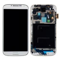 Pant. Tactil + LCD Compatible Galaxy S4 i9500 Blanco