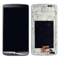 Pant. Táctil + LCD LG G3 D850/D855 Gris (Con Marco)