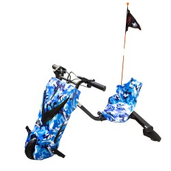 Scooter Boogie Drift 36D Litio Bluetooth 15km/h 3 Veloc. + Llave Camuflaje