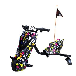 Scooter Boogie Drift 36D Litio Bluetooth 15km/h 3 Veloc. + Llave Party
