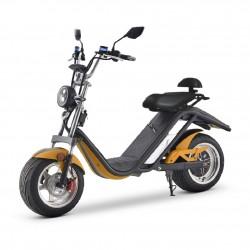 Scooter Eléctrica E-Thor 49e 2000W/20AH Naranja