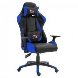 Silla Gaming GM2000 Negro / Azul MUVIP