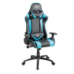Silla Gaming PRO800 Negro / Azul MUVIP