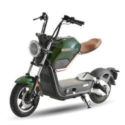 SUNRA Miku Max Edición Premium 49e Motor BOSCH / 20Ah Verde Metalizado / Marrón