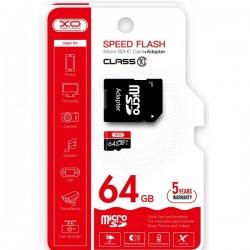 Tarjeta Memoria Micro SD Clase 10 64GB XO