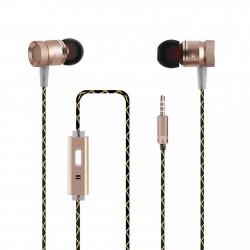 Auricular + Micrófono G63 Oro