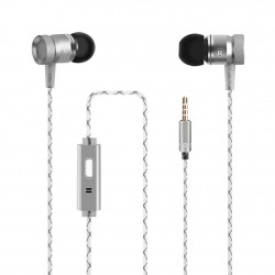 Auricular + Micrófono G63 Plata
