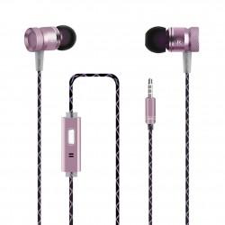 Auricular + Micrófono G63 Rosa