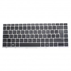 Teclado HP ProBook 430 440 445 G5 Zhan 66 Pro G1 Plata