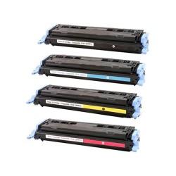 Toner HP 124A 6002A/CRG707 Premium Amarillo (reman.)