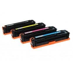 Toner HP 125A CB542/CE322A/CF212A/CRG716/CRG731 Amarillo  (reman.)