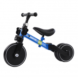 Triciclo Infantil Convertible 3 en 1 Jungle Mix Azul Biwond