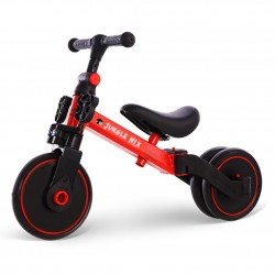 Triciclo Infantil Convertible 3 en 1 Jungle Mix Rojo Biwond