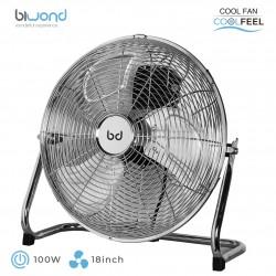"""Ventilador Industrial CoolFeel Metálico Suelo 100W 18"""" Biwond"""