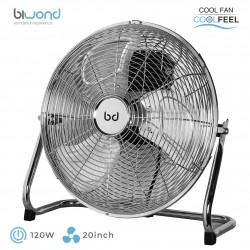 """Ventilador Industrial CoolFeel Metálico Suelo 120W 20"""" Biwond"""