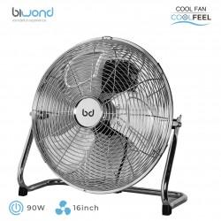 """Ventilador Industrial CoolFeel Metálico Suelo 90W 16"""" Biwond"""