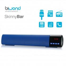 Barra de Sonido 10W SkinnyBar Biwond Azul