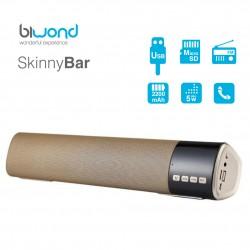 Barra de Sonido 10W SkinnyBar Biwond Oro