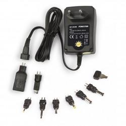 Adaptador CA/CC 3-12V 1.5A Fonestar